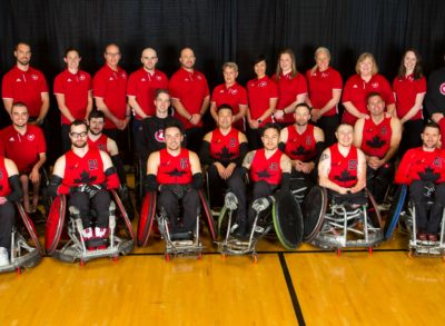 Wheelchair Rugby Canada Announces Team for 2018 World Wheelchair Rugby Championship