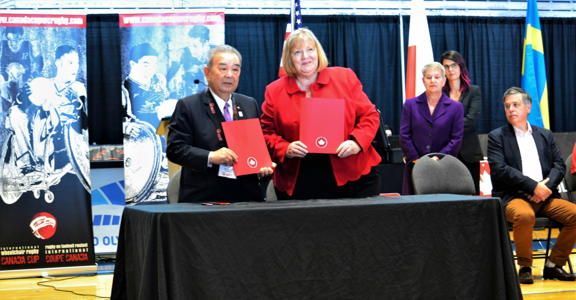 Wheelchair Rugby Canada Announces Agreement with Misawa City, Japan