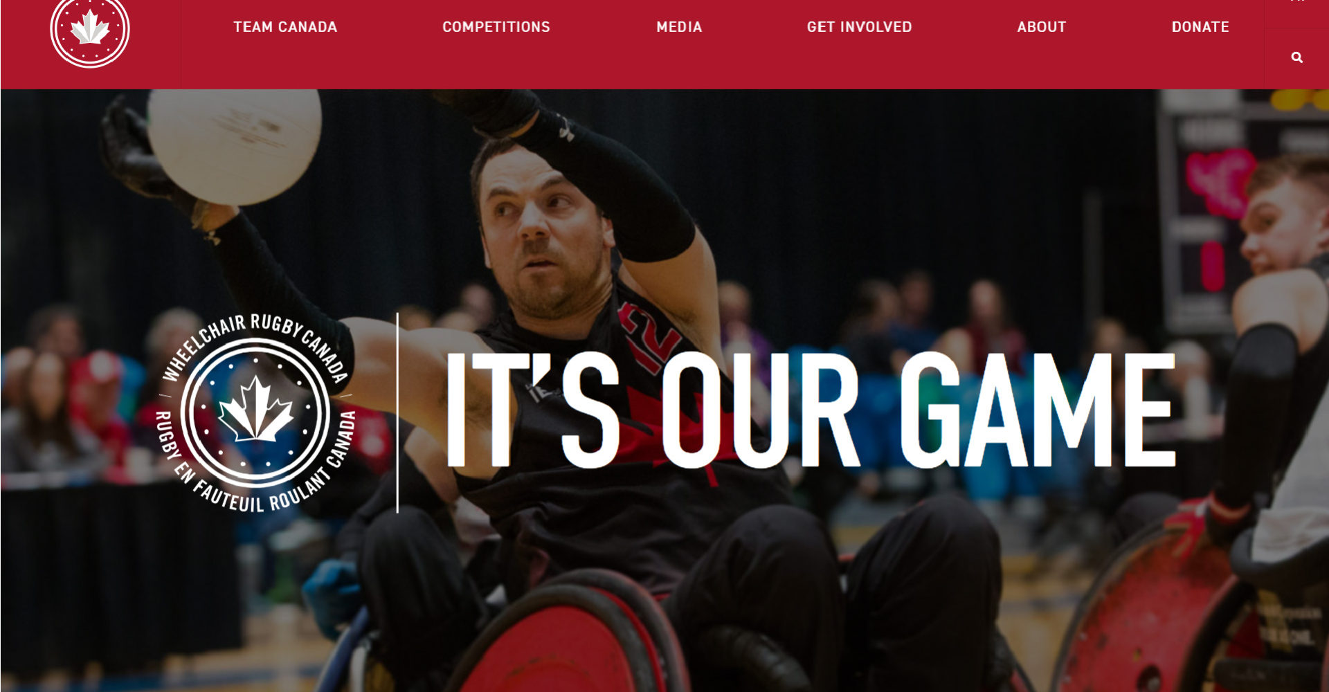 Wheelchair Rugby Canada Announces New Website