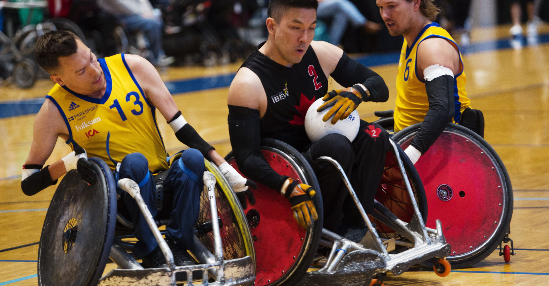 Canadian Paralympic Committee and CBC Sports Partner To Broadcast GIO 2018 IWRF Wheelchair Rugby World Championships
