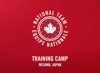 Team Canada to Hold First Training Camp in Misawa, Japan