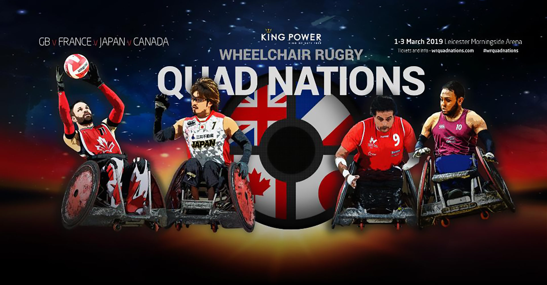 Canada to Compete at the 2019 Quad Nations