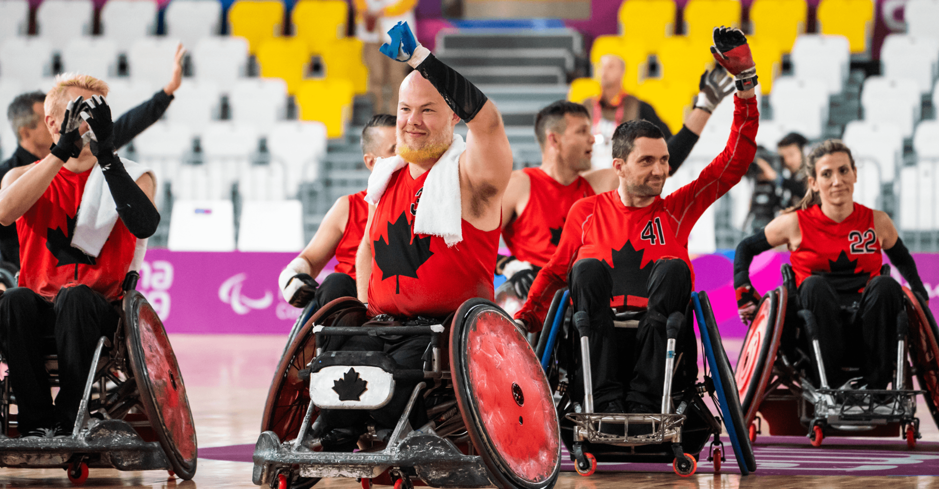 CANADA'S WHEELCHAIR RUGBY TEAM OFF TO A WINNING START AT LIMA 2019