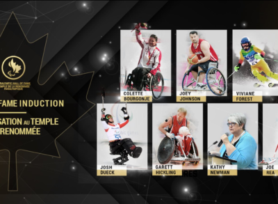 Garett Hickling and Kathy Newman named to Canadian Paralympic Hall of Fame