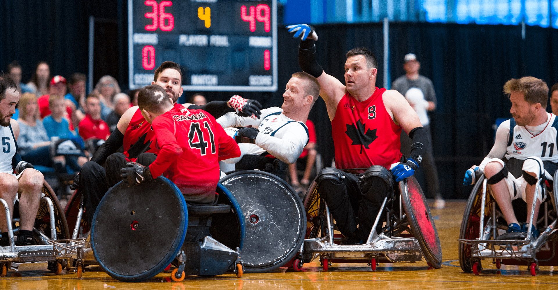 Canada to host 2020 IWRF Paralympic Qualification Tournament