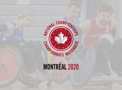 2020 NATIONAL CHAMPIONSHIPS TO BE HELD IN MONTREAL