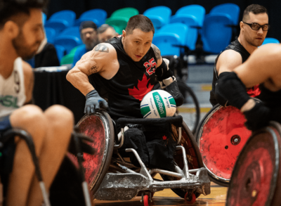 CANADA UNDEFEATED AT WHEELCHAIR RUGBY PARALYMPIC GAMES QUALIFIER