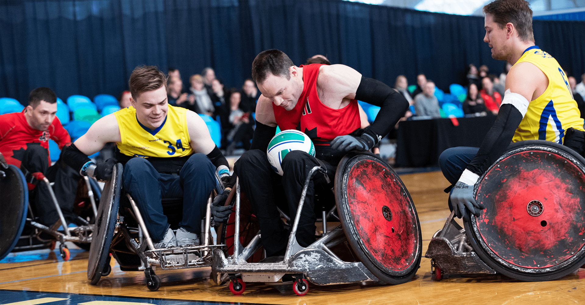 CANADA CLINCHES SEMIFINAL BERTH AT WHEELCHAIR RUGBY PARALYMPIC GAMES QUALIFIER