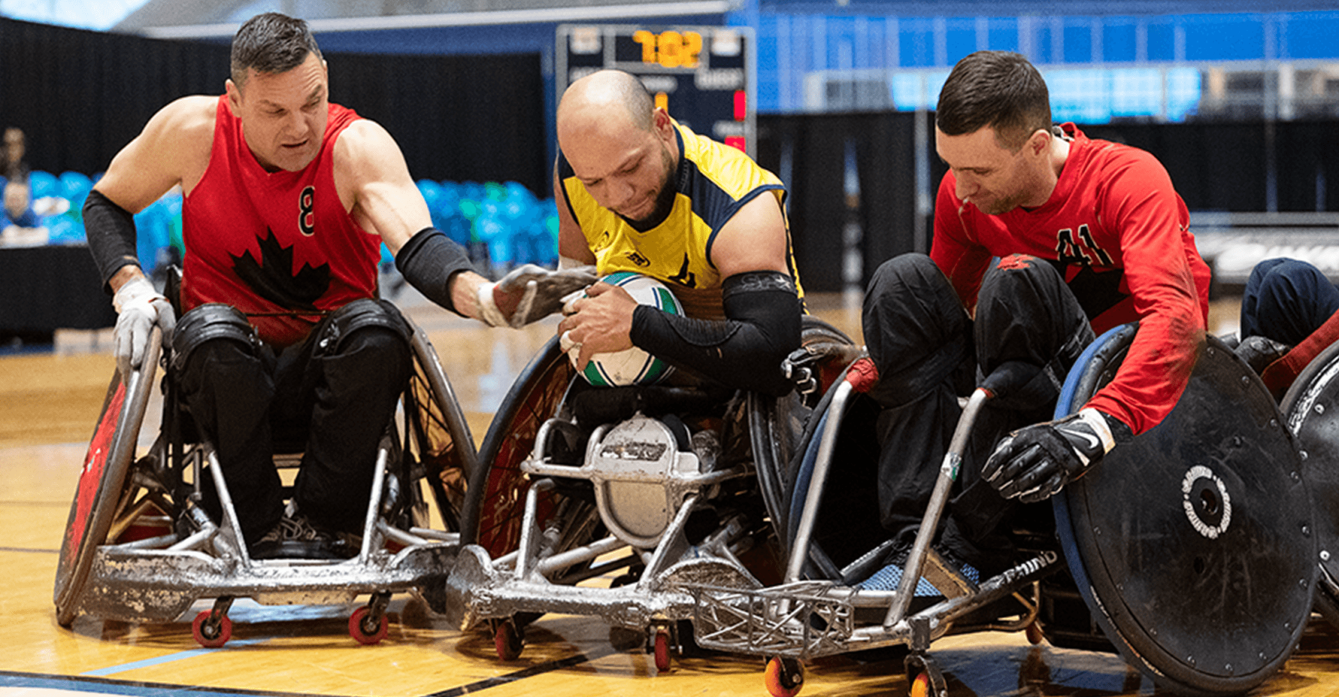 CANADA'S WHEELCHAIR RUGBY TEAM QUALIFY FOR TOKYO 2020 PARALYMPICS