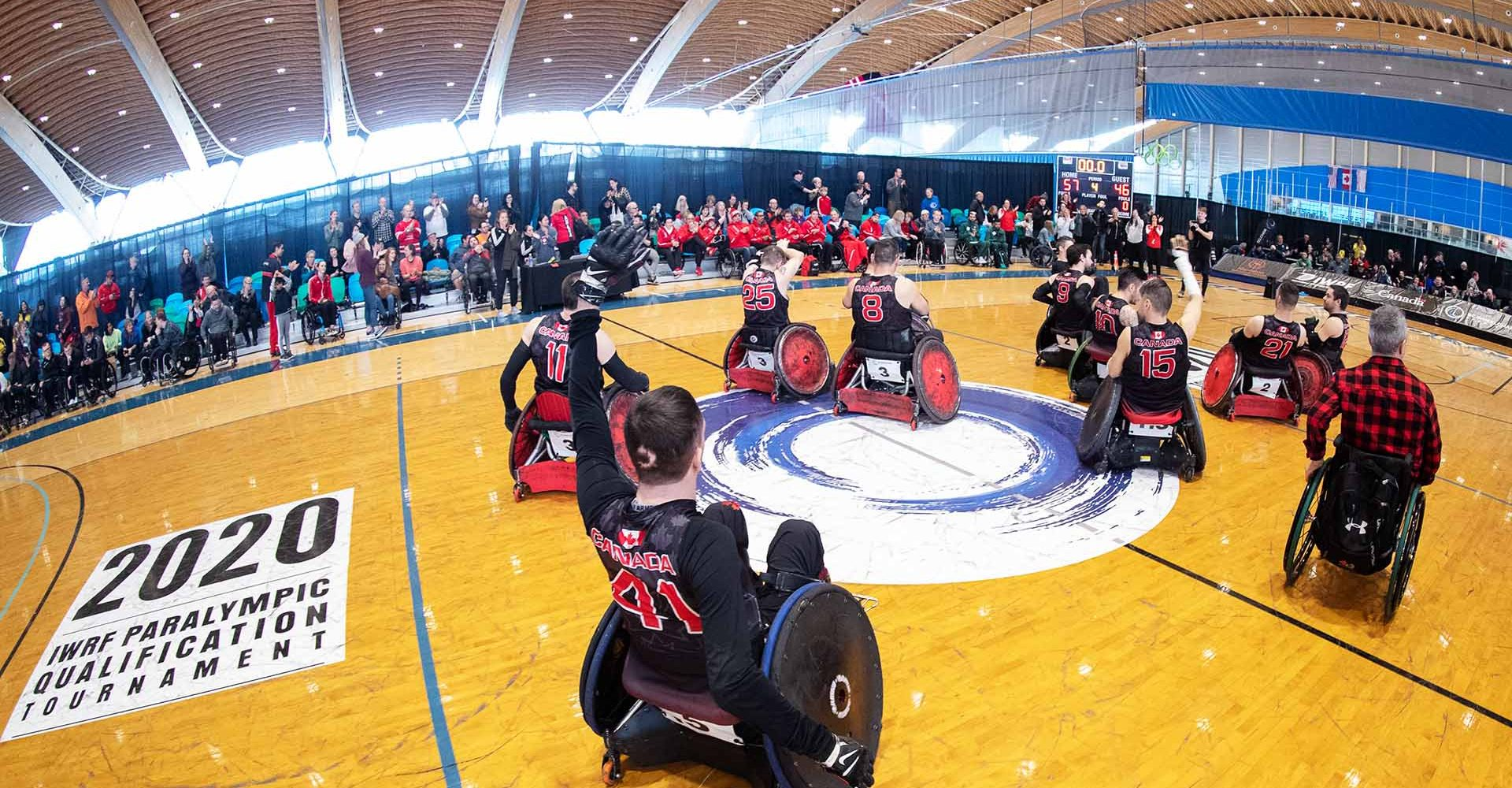 """Wheelchair Rugby Documentary """"Across the Line"""" to air on May 29th"""
