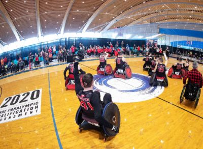 "Wheelchair Rugby Documentary ""Across the Line"" to air on May 29th"
