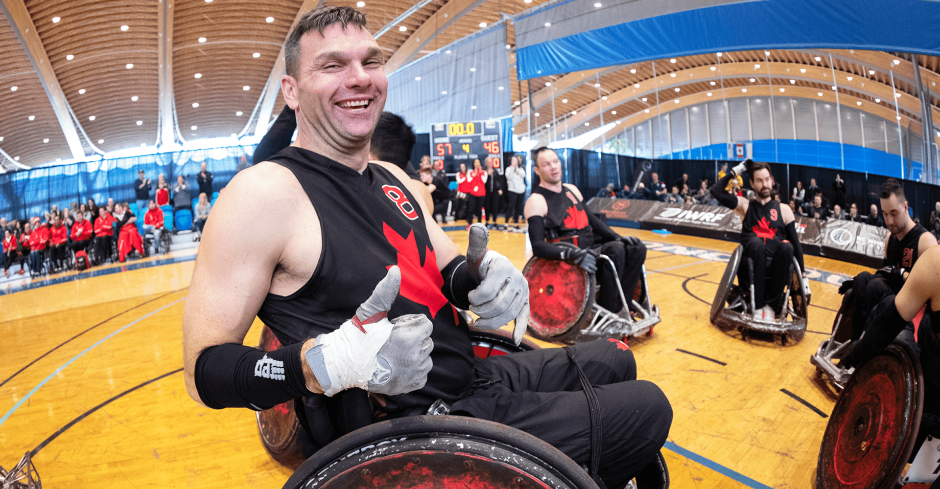 Mike Whitehead is seeking nomination to the CPC Athletes' Council