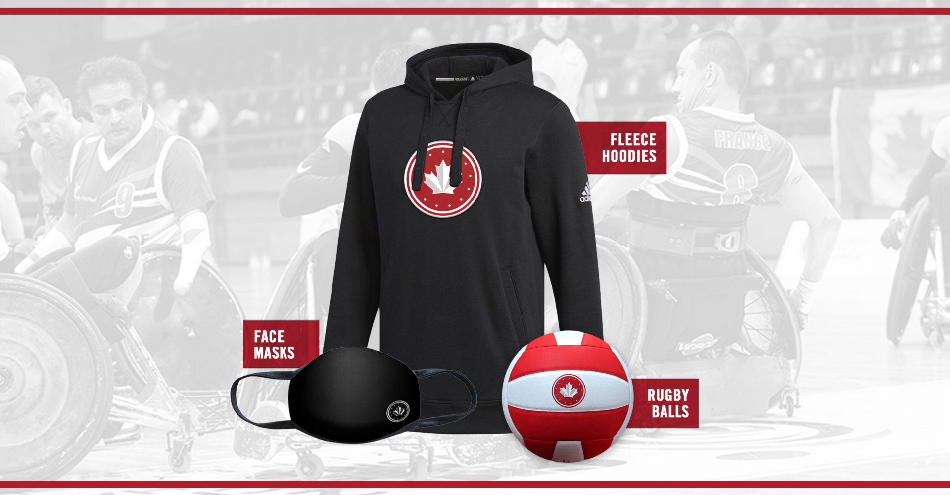 WHEELCHAIR RUGBY CANADA LAUNCHES NEW ONLINE STORE