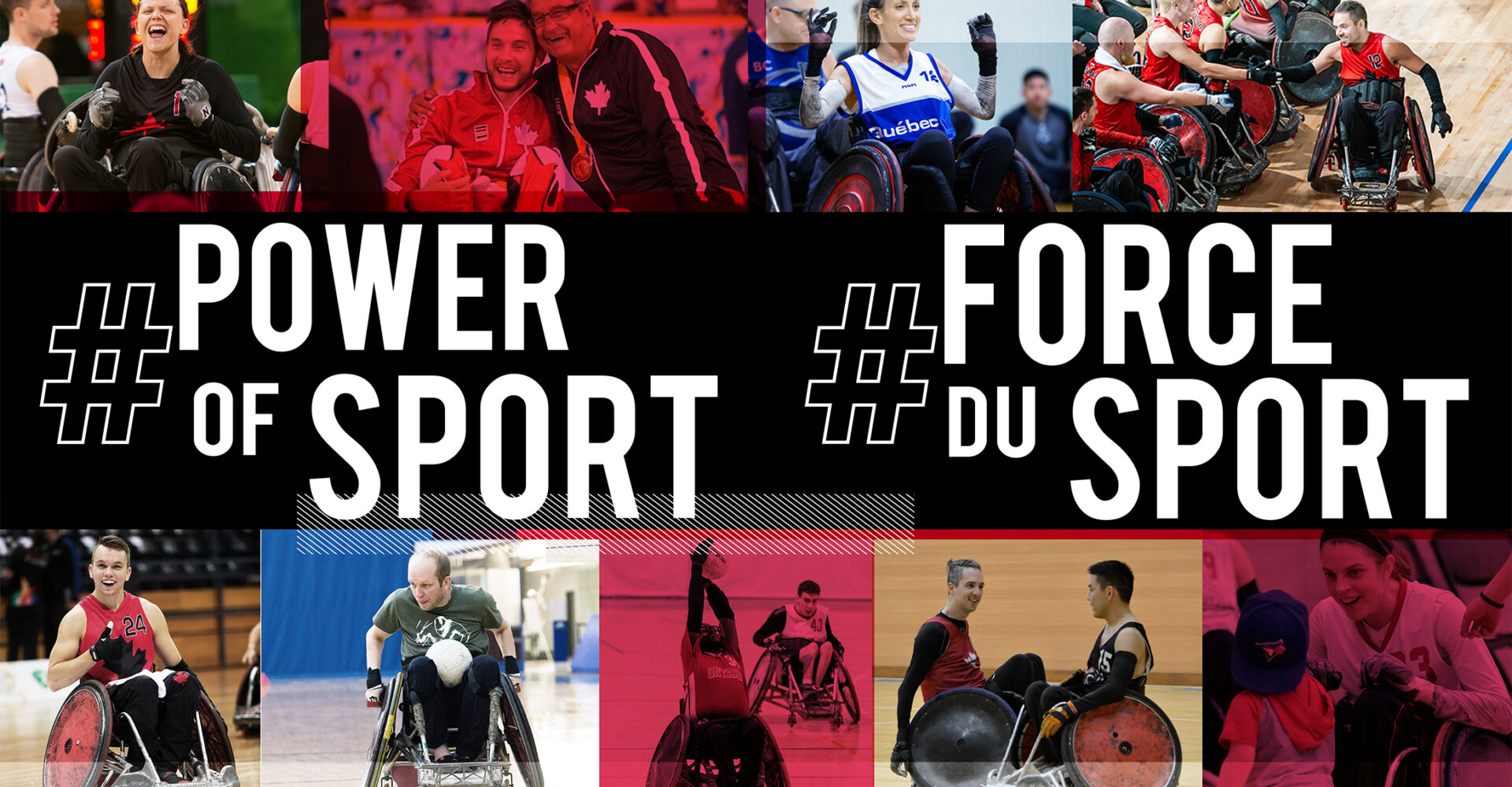 CANADIANS TO CONNECT THROUGH #POWEROFSPORT