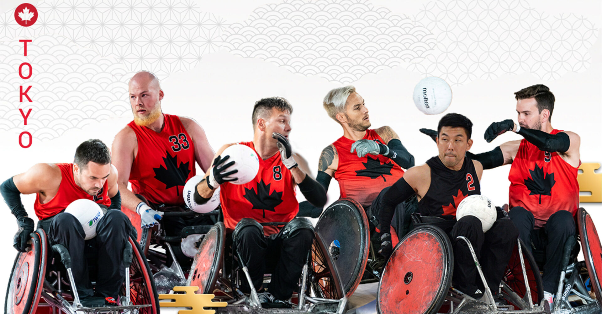Canada's wheelchair rugby team announced for Tokyo 2020 Paralympic Games
